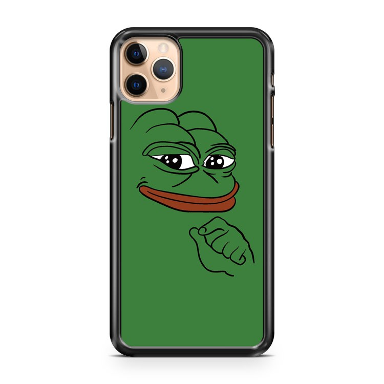 SMUG PEPE PEPE THE FROG iPhone 11 Pro Max Case Cover