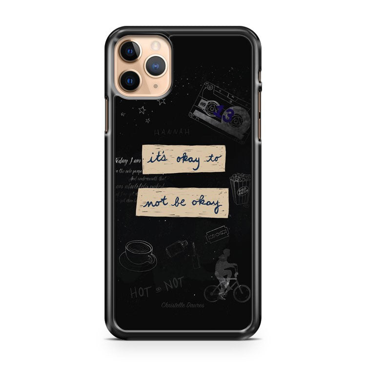 13 reasons Why fond d ecran Crecre iPhone 11 Pro Max Case Cover | CaseSupplyUSA
