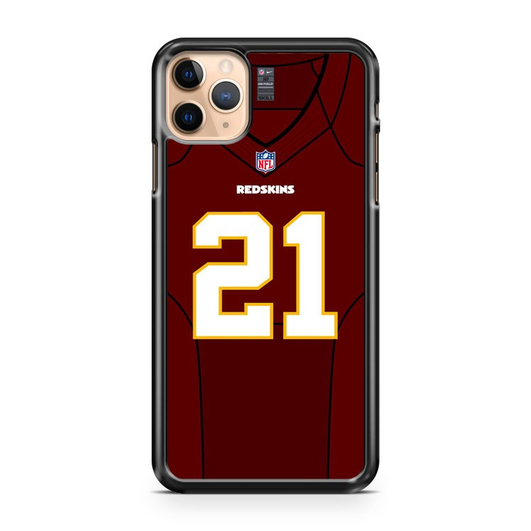 21 Washington Redskins Front Jersey iPhone 11 Pro Max Case Cover | CaseSupplyUSA