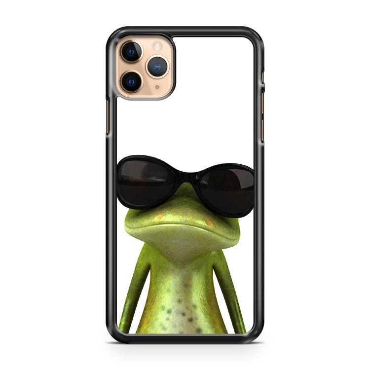 Abstract Cool Frog with sunglasses iPhone 11 Pro Max Case Cover | CaseSupplyUSA