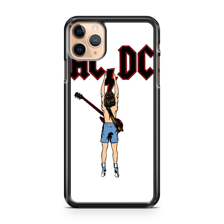AC DC Funny iPhone 11 Pro Max Case Cover | CaseSupplyUSA