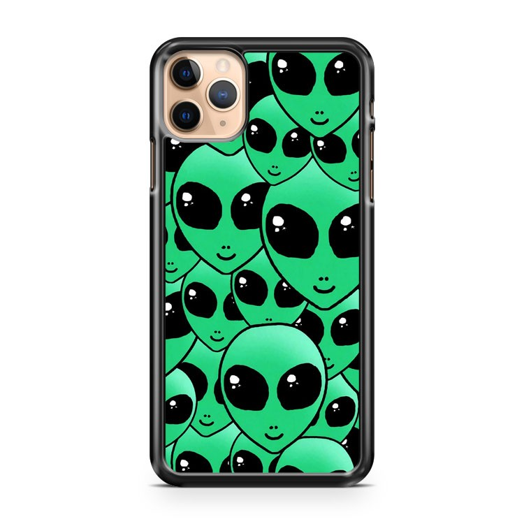 Alien Hipster Collage iPhone 11 Pro Max Case Cover | CaseSupplyUSA