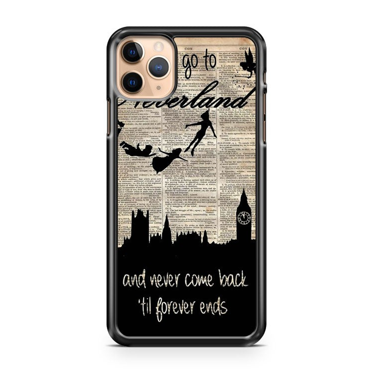 Art Print of TinkerBell Quote illustration iPhone 11 Pro Max Case Cover | CaseSupplyUSA