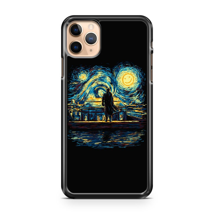 Art Starry Fall Sherlock iPhone 11 Pro Max Case Cover | CaseSupplyUSA