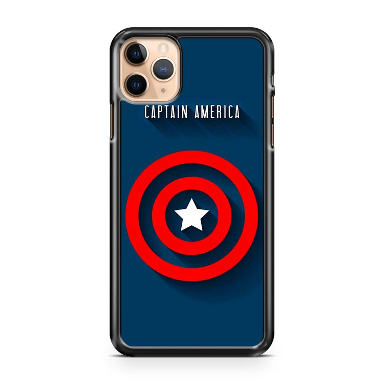 Capitan America Universal Marvel iPhone 11 Pro Max Case Cover | CaseSupplyUSA