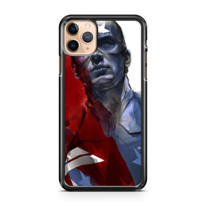 Captain America Ben Oliver iPhone 11 Pro Max Case Cover | CaseSupplyUSA