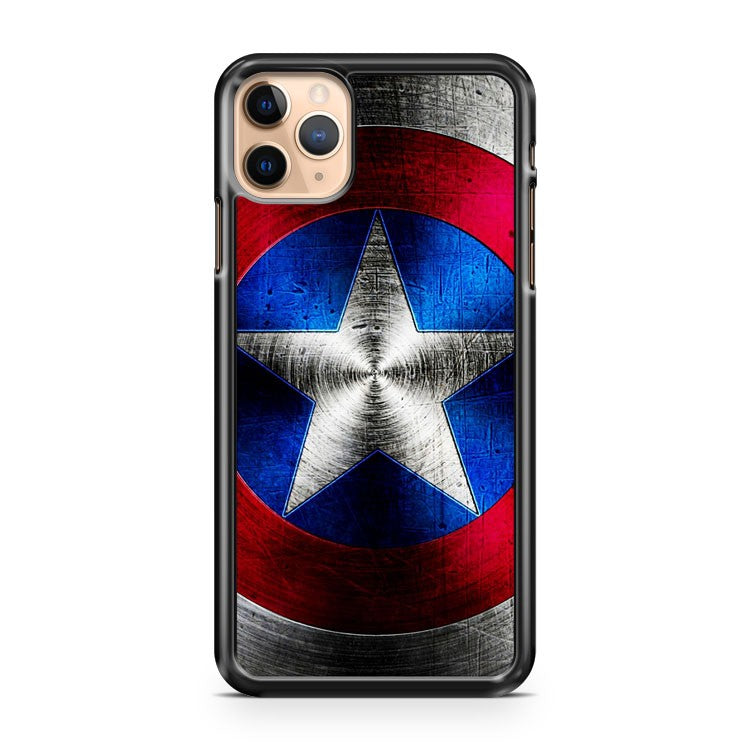 captain america shield 2 iPhone 11 Pro Max Case Cover | CaseSupplyUSA