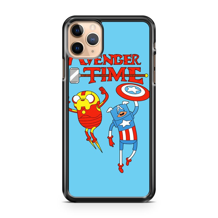 Captain America The Human Iron Man Dog Marvel Finn And Jake iPhone 11 Pro Max Case Cover | CaseSupplyUSA
