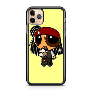 Captain Jack Sparrow Powerpuffs iPhone 11 Pro Max Case Cover | CaseSupplyUSA