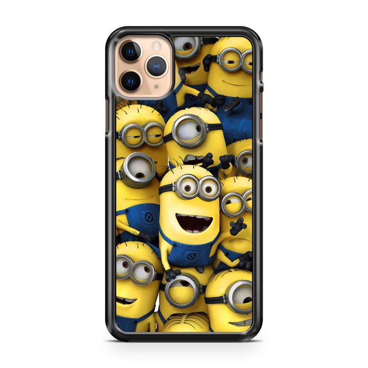 Cartoon Minions Funny iPhone 11 Pro Max Case Cover | CaseSupplyUSA