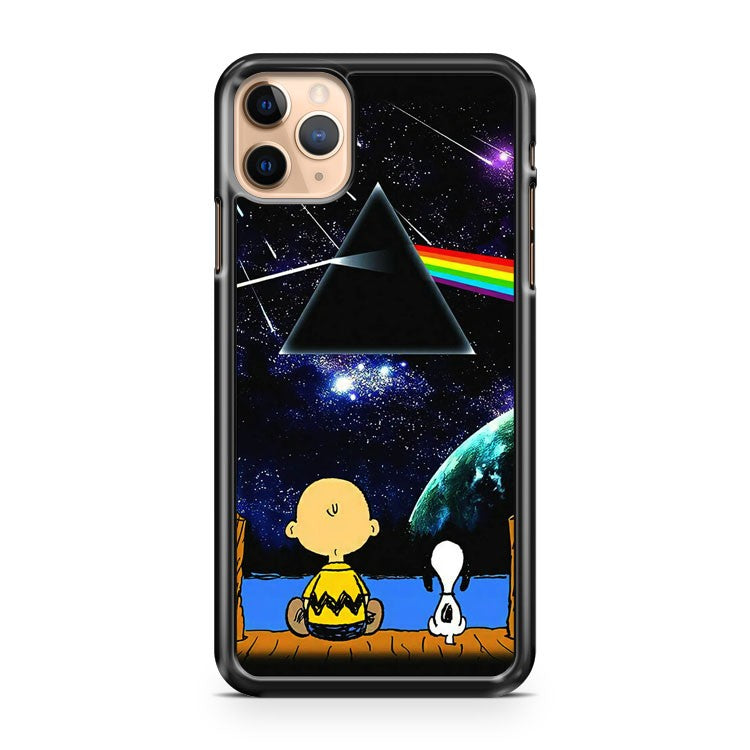 charlie brown snoopy pink floyd iPhone 11 Pro Max Case Cover | CaseSupplyUSA