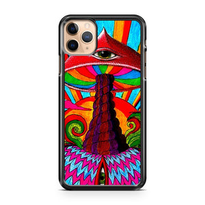 Cheap Hippy Tie Dye Mushrooms Psychedelic iPhone 11 Pro Max Case Cover | CaseSupplyUSA