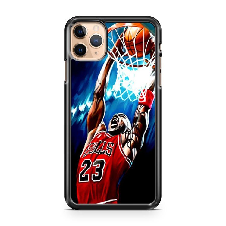 Michael Jordan Artwork Painting iPhone 11 Pro Max Case Cover