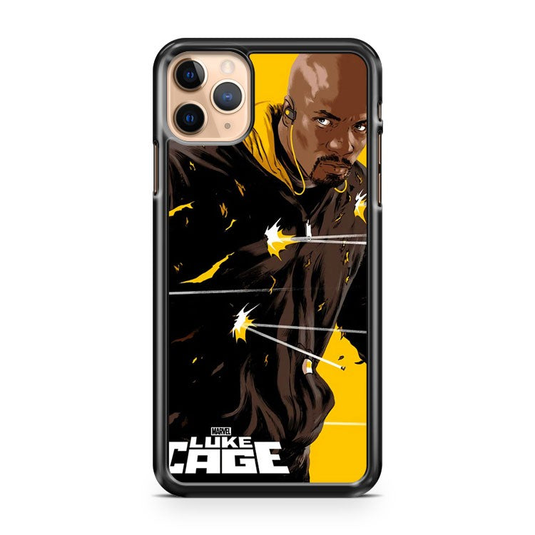 Mondo Luke Cage Poster Epic Daredevil 2 iPhone 11 Pro Max Case Cover