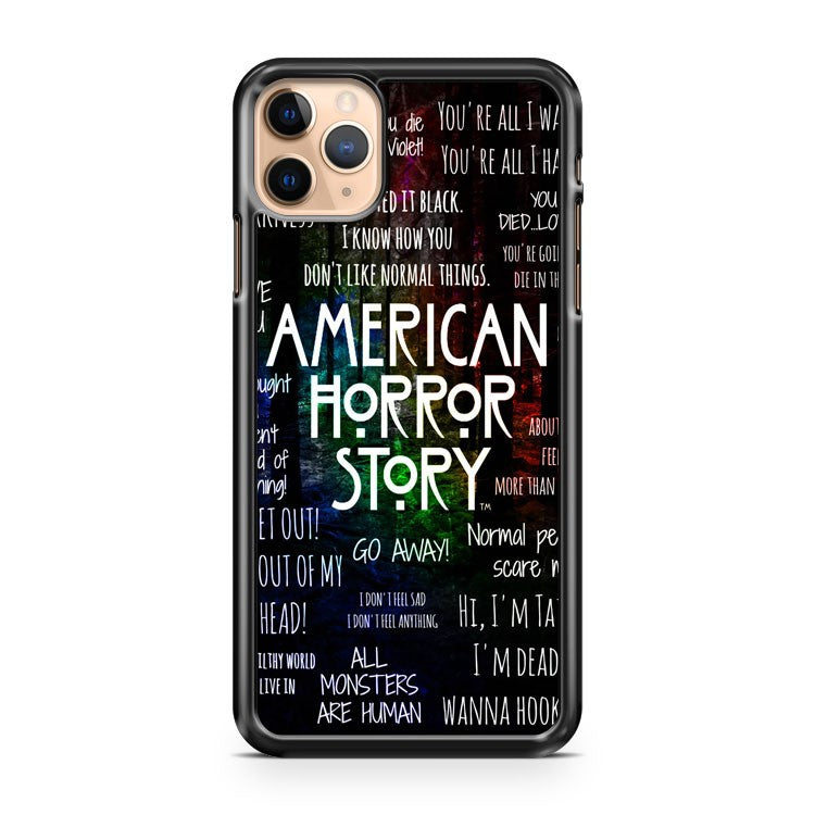 My American Horror Story Normal People Scare Me iPhone 11 Pro Max Case Cover