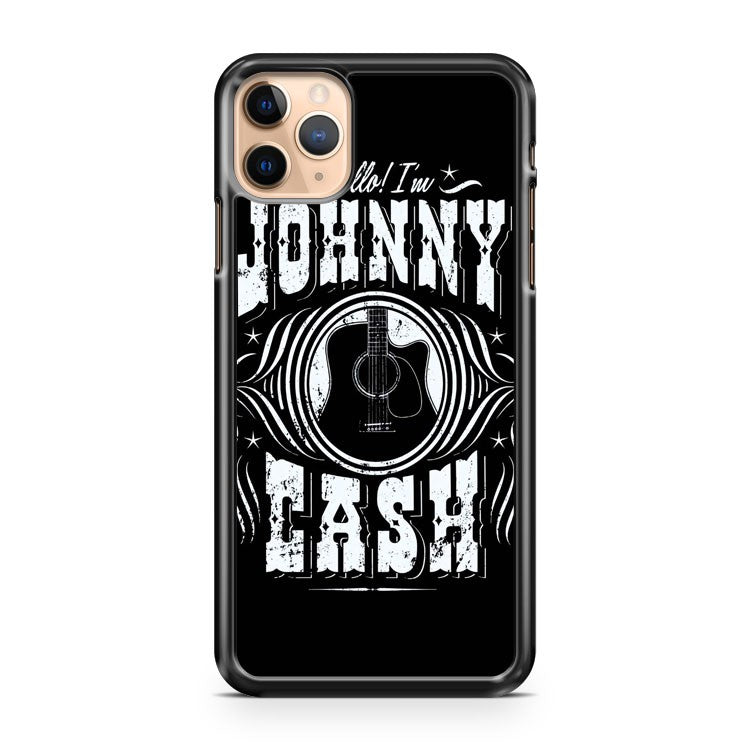 New Johnny Cash American Rebel Classic Country iPhone 11 Pro Max Case Cover