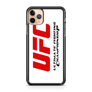 New ULTIMATE FIGHTING CHAMPIONSHIP UFC MMA iPhone 11 Pro Max Case Cover