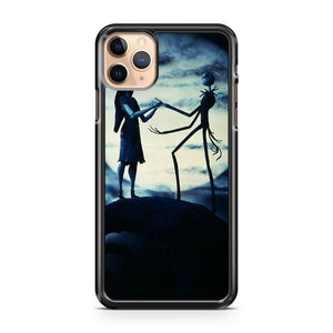 Nightmare Before Christmas Cover Jack and Sally iPhone 11 Pro Max Case Cover