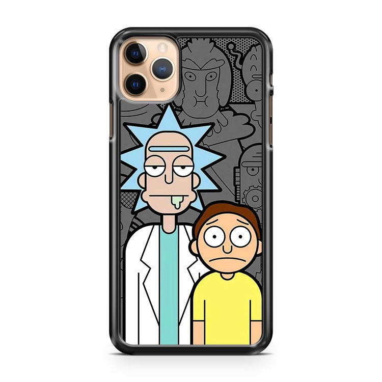 Rick and Morty 4 iPhone 11 Pro Max Case Cover