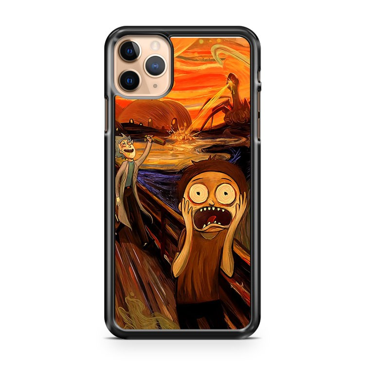 rick and morty the scream iPhone 11 Pro Max Case Cover