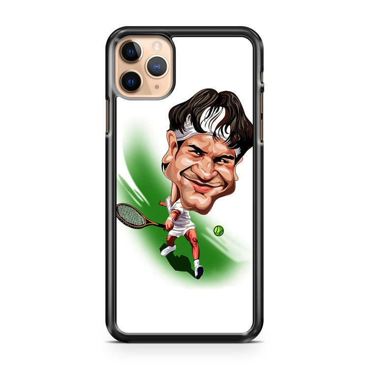 roger federer great caricature iPhone 11 Pro Max Case Cover