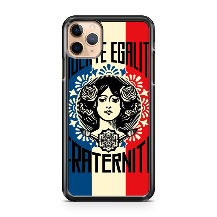 Shepard Fairey OBEY GIANT Liberte Egalite 2 iPhone 11 Pro Max Case Cover