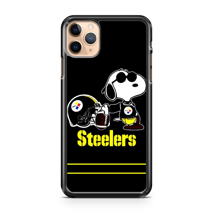 Snoopy Steelers Pittsburgh Steelers NFL iPhone 11 Pro Max Case Cover