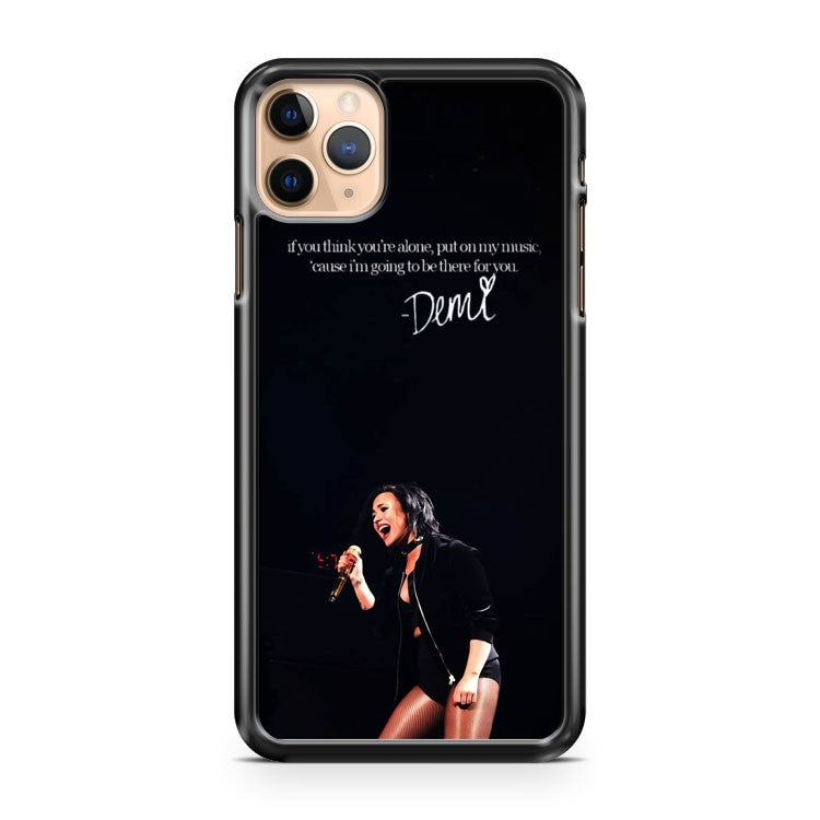 sorry not sorry Quotes demi lovato iPhone 11 Pro Max Case Cover