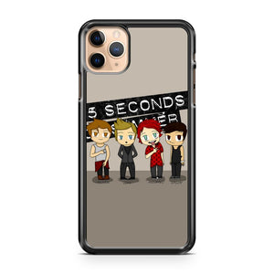 5 second of summers chibi iPhone 11 Pro Max Case Cover | CaseSupplyUSA