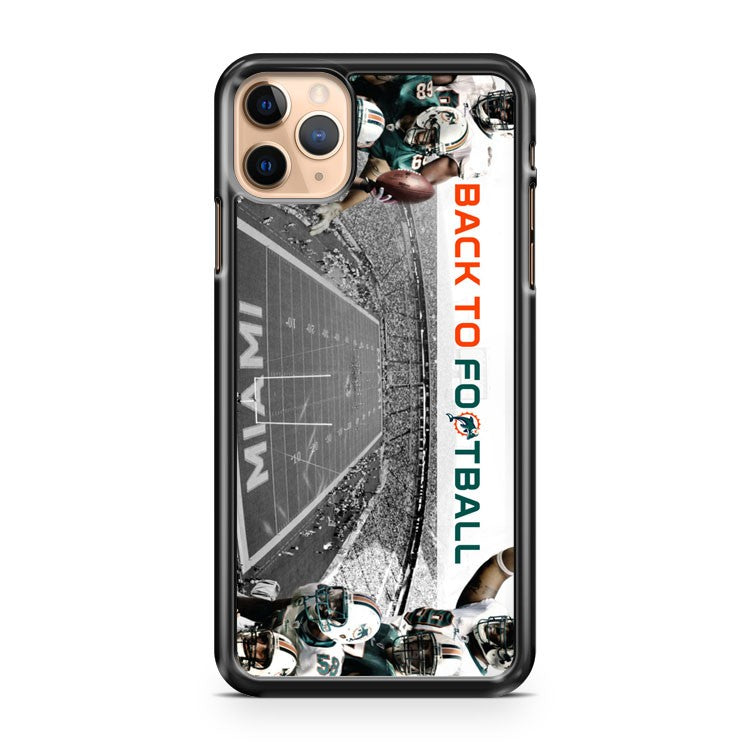 2014 American Football Miami Dolphins iPhone 11 Pro Max Case Cover | CaseSupplyUSA