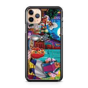 A scene from Lady and the Tramp iPhone 11 Pro Max Case Cover | CaseSupplyUSA