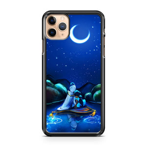 aladdin and jasmine moon light iPhone 11 Pro Max Case Cover | CaseSupplyUSA