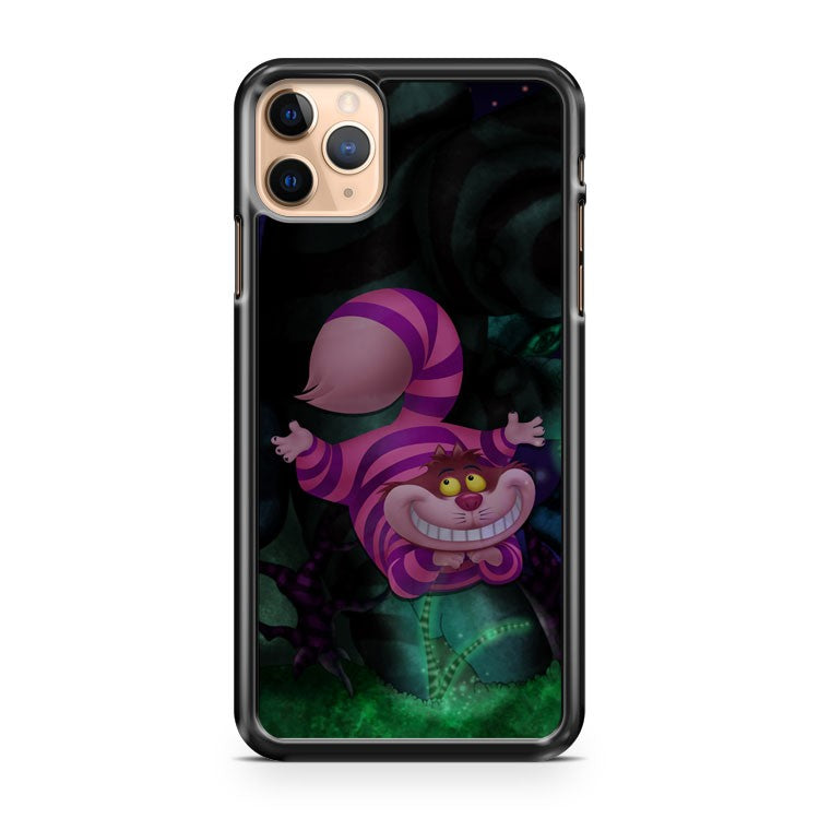 alice in wonderland cheshire cat in the woods iPhone 11 Pro Max Case Cover | CaseSupplyUSA