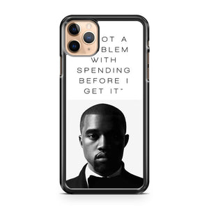 all falls down kanye west lyrics iPhone 11 Pro Max Case Cover | CaseSupplyUSA