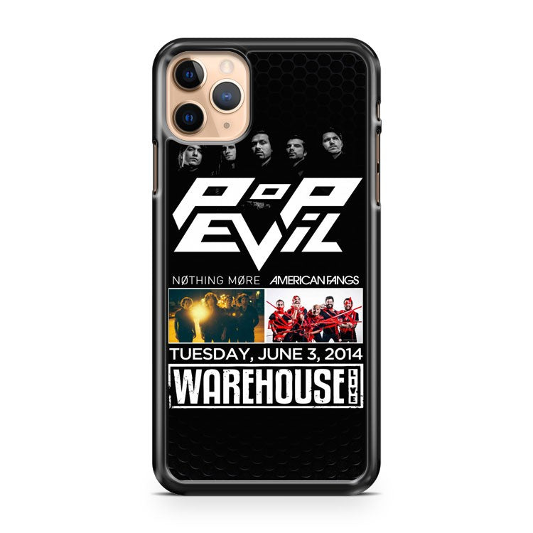 American Fangs Pop Evil Nothing More iPhone 11 Pro Max Case Cover | CaseSupplyUSA