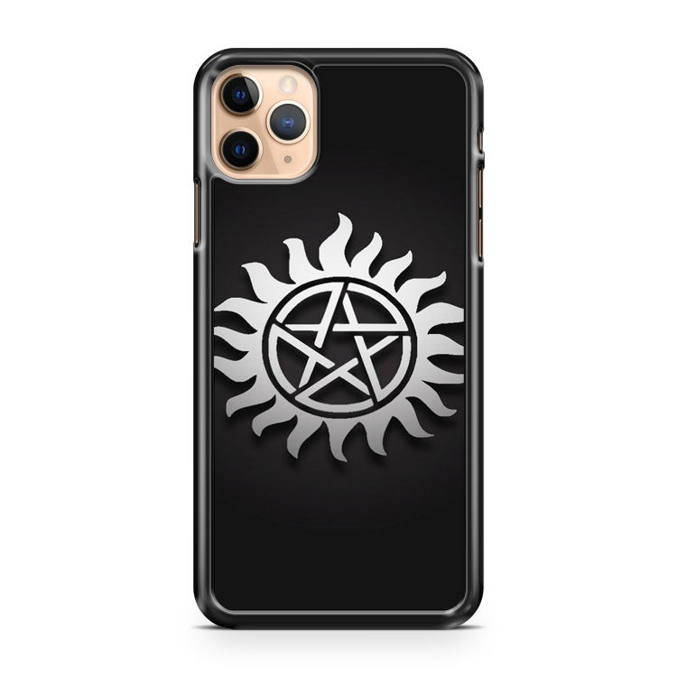 Anti possession tattoo SUPRANATURAL iPhone 11 Pro Max Case Cover | CaseSupplyUSA