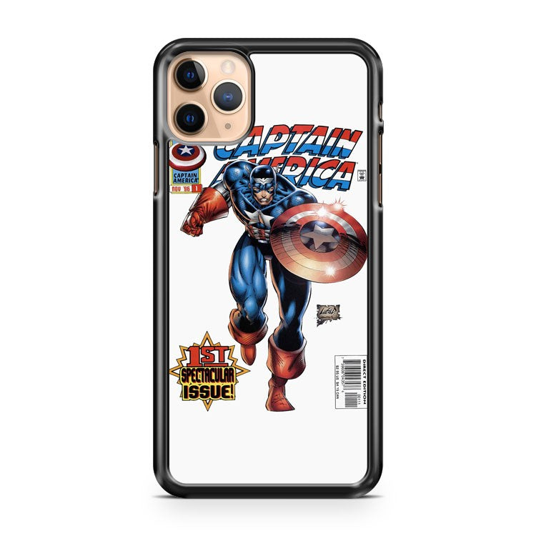 Anymode Marvel Comics Captain America iPhone 11 Pro Max Case Cover | CaseSupplyUSA