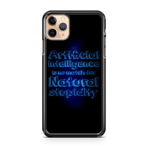 Artificial Intelligence Inspirational Life Quotes iPhone 11 Pro Max Case Cover | CaseSupplyUSA