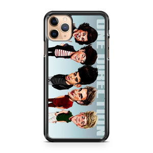 Caricature One direction z iPhone 11 Pro Max Case Cover | CaseSupplyUSA