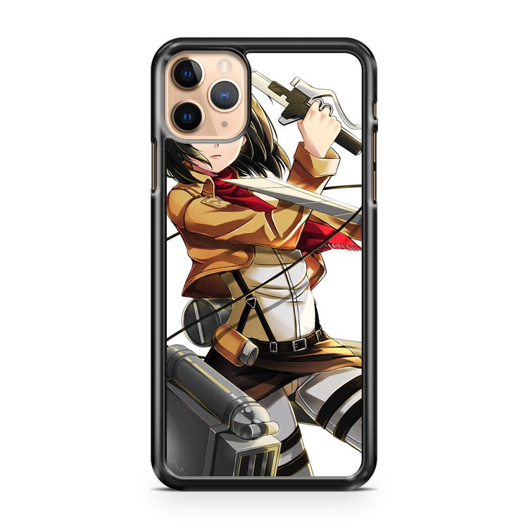 mikasa ackerman attack on titan 3 iPhone 11 Pro Max Case Cover