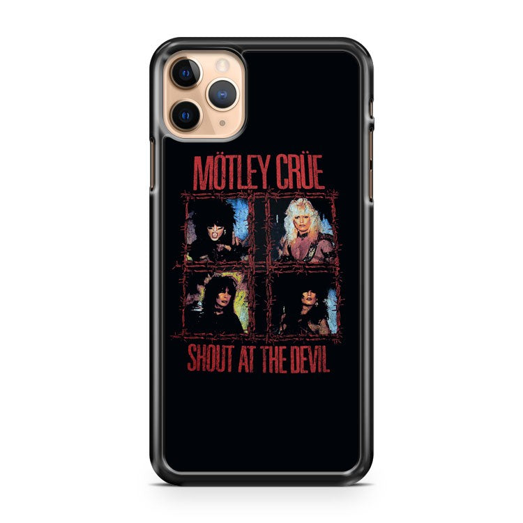 Motley crue shout at the devil iPhone 11 Pro Max Case Cover