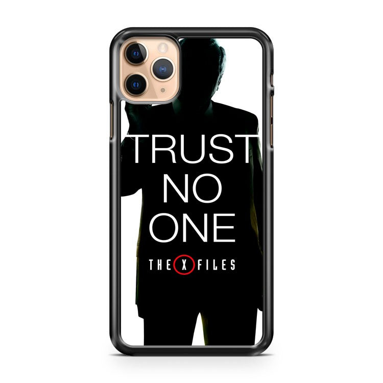 MULDER SCULLY Trust No One iPhone 11 Pro Max Case Cover