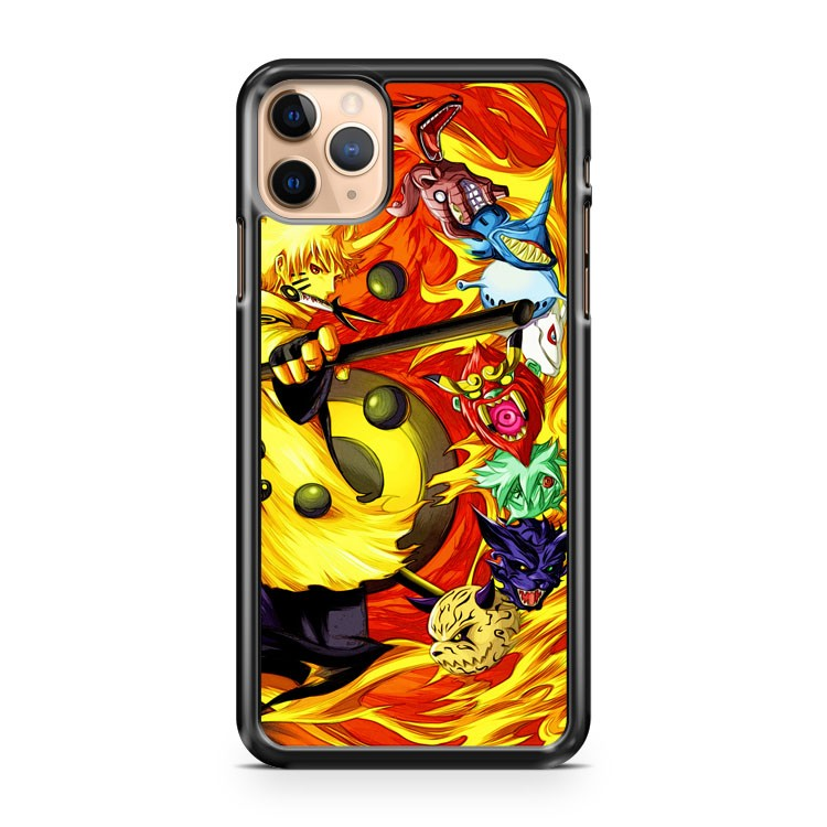 Naruto and kyubi iPhone 11 Pro Max Case Cover