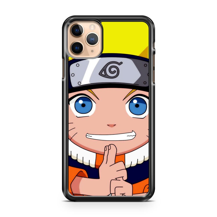 Naruto Childhood chibi iPhone 11 Pro Max Case Cover