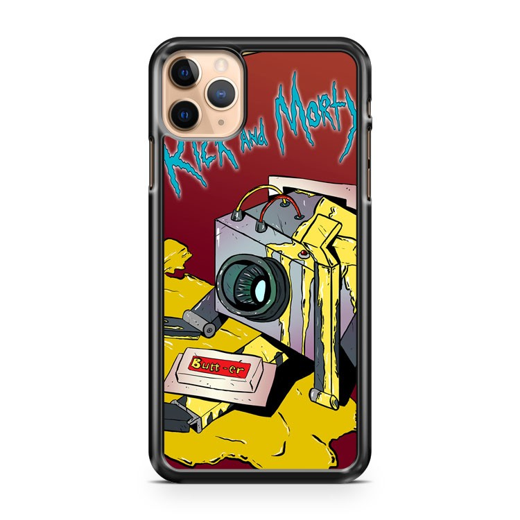 RICK AND MORTY BUTTER ROBOT iPhone 11 Pro Max Case Cover