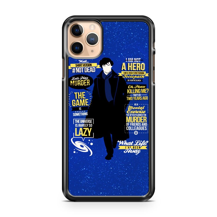 sherlock Moriarty is our King iPhone 11 Pro Max Case Cover