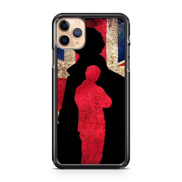 Sherlock england flag iPhone 11 Pro Max Case Cover