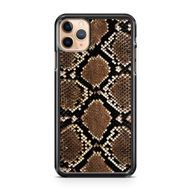 Snake Skin Pattern Print iPhone 11 Pro Max Case Cover