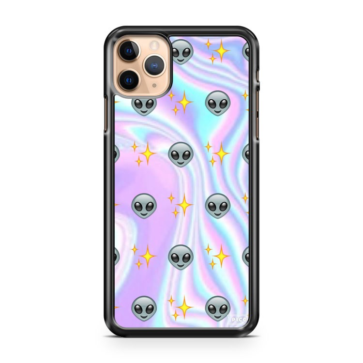 Alien Emoji 3 iPhone 11 Pro Max Case Cover | CaseSupplyUSA