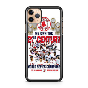 2018 Champions Boston Red Sox 25 players WE OWN 21 CENTURY LOOK iPhone 11 Pro Max Case Cover | CaseSupplyUSA